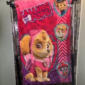 4 / $40 Paw Patrol Skye Pink Sleeping Bag - BDU1